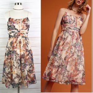 Anthropologie Maeve McKenzie Floral Dress